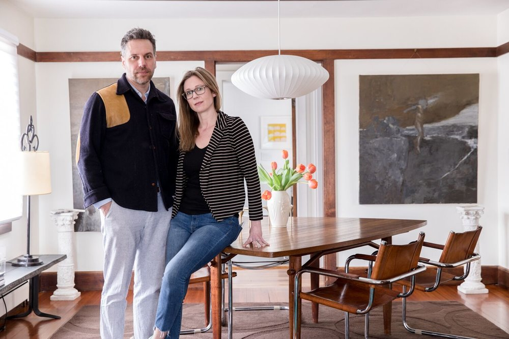 ali malone + ben ray - Business owners, art collectors, design enthusiastsPortland, Maine