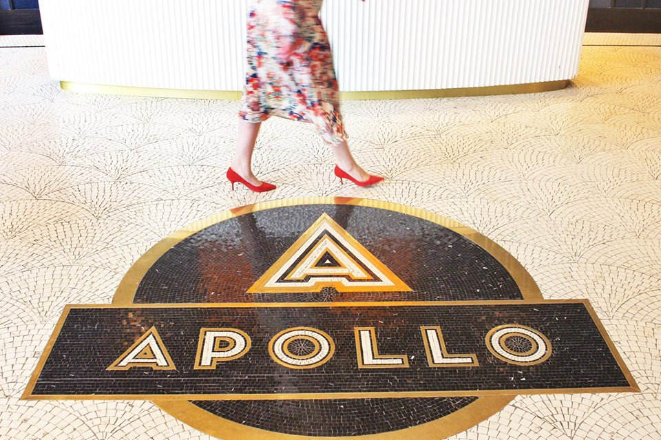 Attendees gathered on Saturday for a charity fashion show at the new The Apollo residences located on H Street NE.
