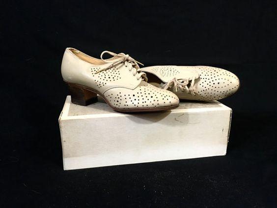 1920's Oxford Heels   $80.00