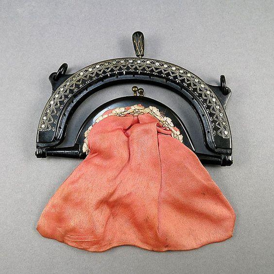 Vintage 1920s Purse Frame Celluloid Purse   $90.80