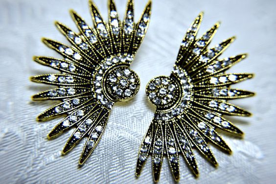 Vintage ART DECO earrings   $39.20