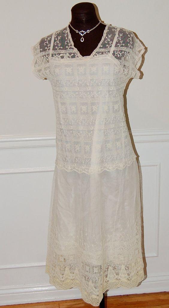 1920s Wedding Dress   $238.00