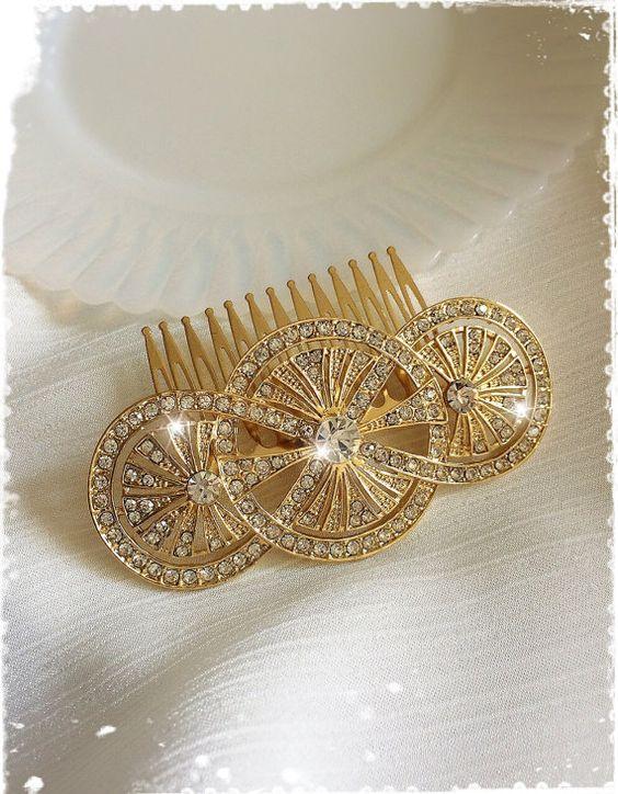 Vintage Bridal Headpiece   $93.00