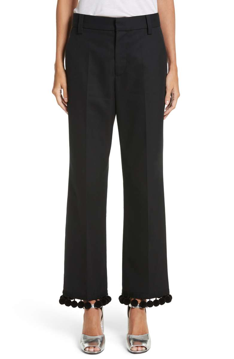 MARC JACOBS Pompom hem trousers, $550 Nordstrom.com