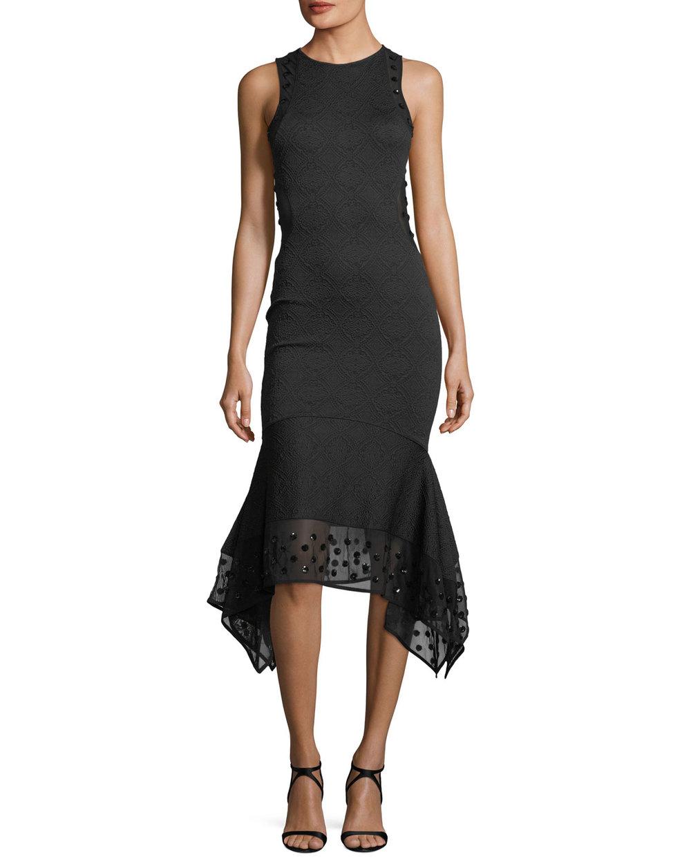 OPENING CEREMONY Medallion jacquard midi dress, $550 Neimanmarcus.com