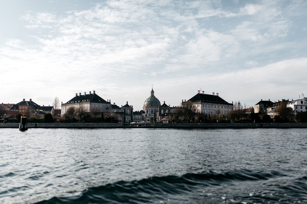 Main canal in Copenhagen