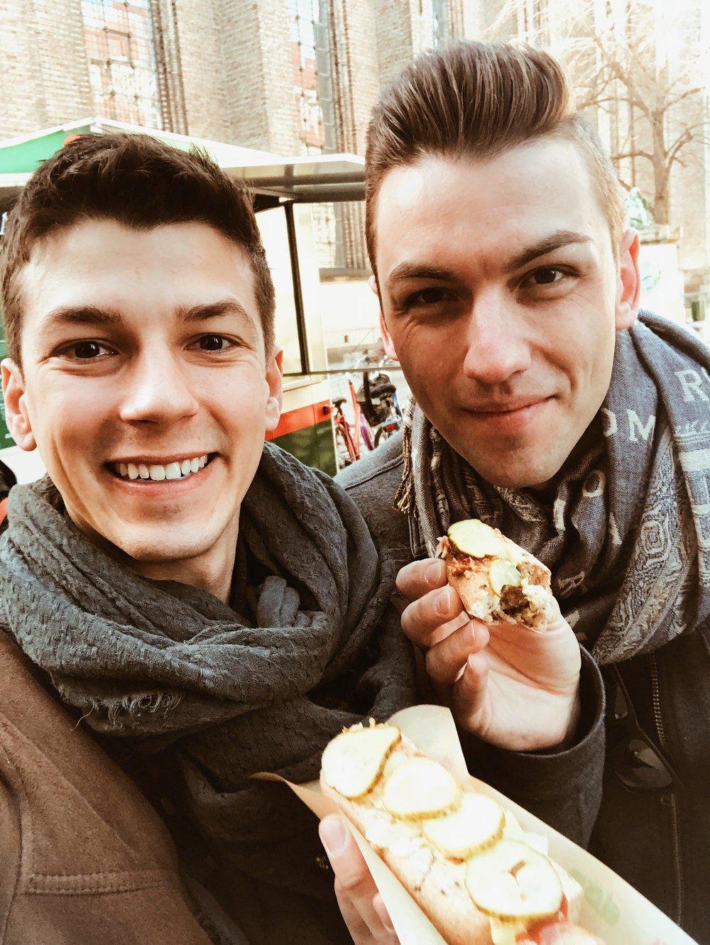 Michael & Matthew with Døp