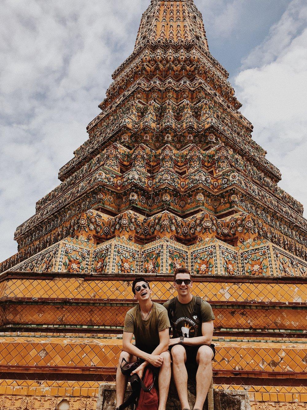 Matthew and Michael at Wat Pho.JPG