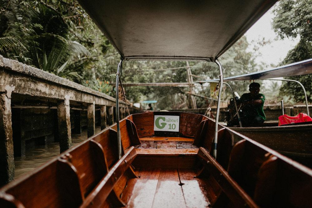 Damnoen Saduak Longboat