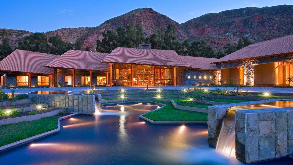 Tambo del Inka Luxury Colleciton Resort & Spa Enterance
