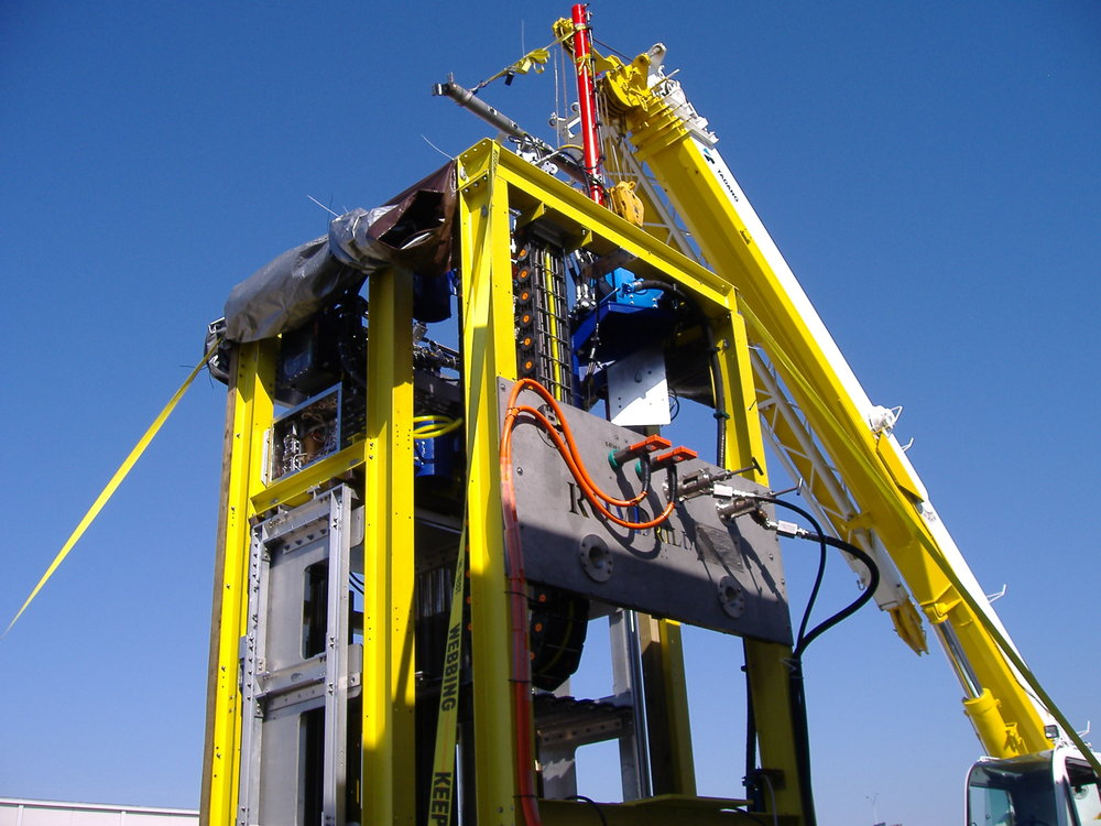 Forum Energy Technologies - ROVdrill M80/3 Tooling