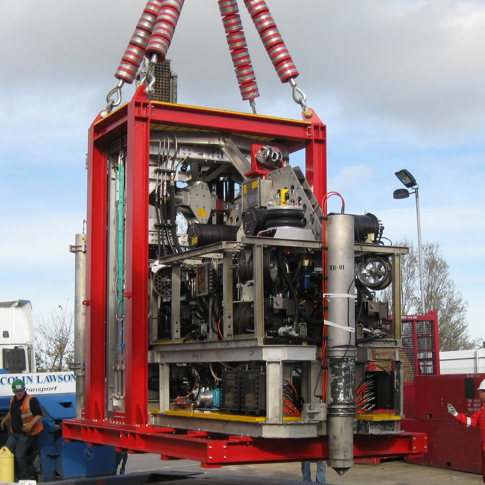 Canyon - ROVdrill MK.2 Seafloor Drills