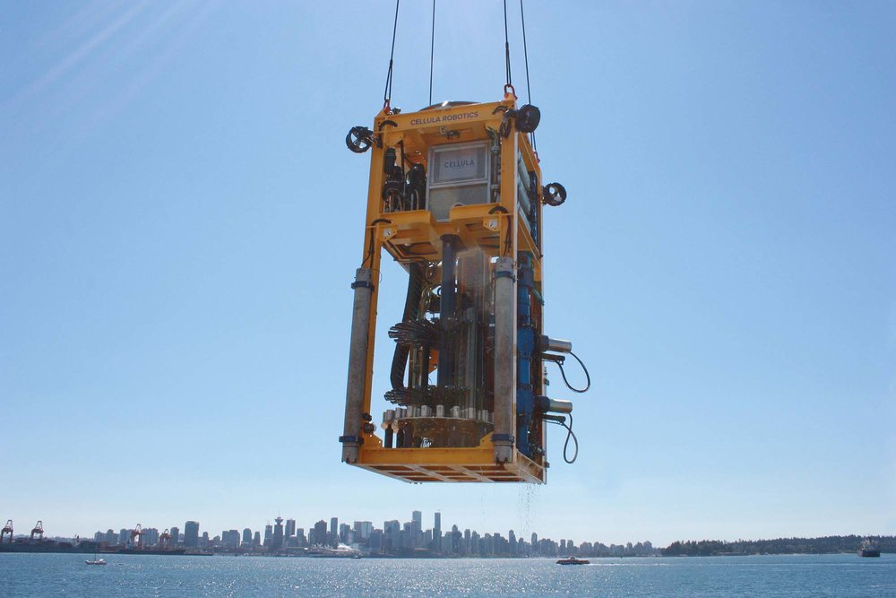 Engineering solutions and intelligent systems.   ...such as the  CRD100 Seafloor Drill .   Browse Products   View Our Services