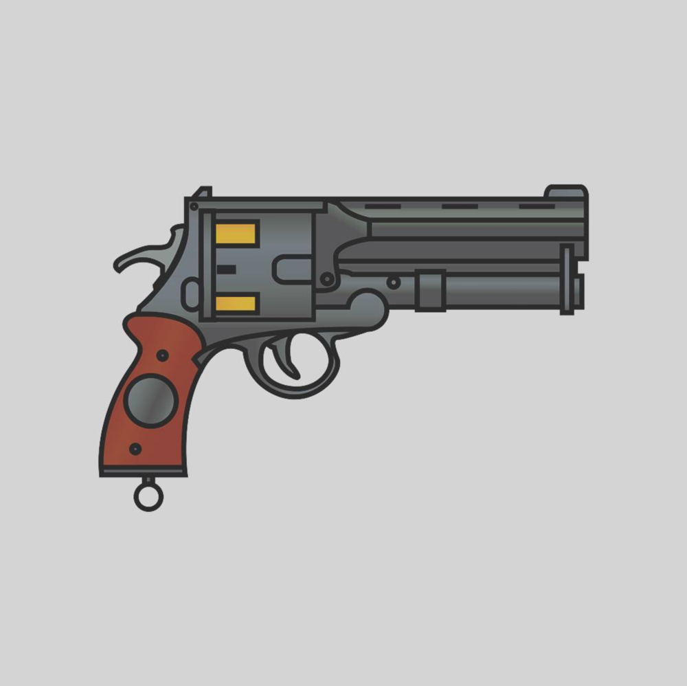 Hellboy's gun, The Samaritan