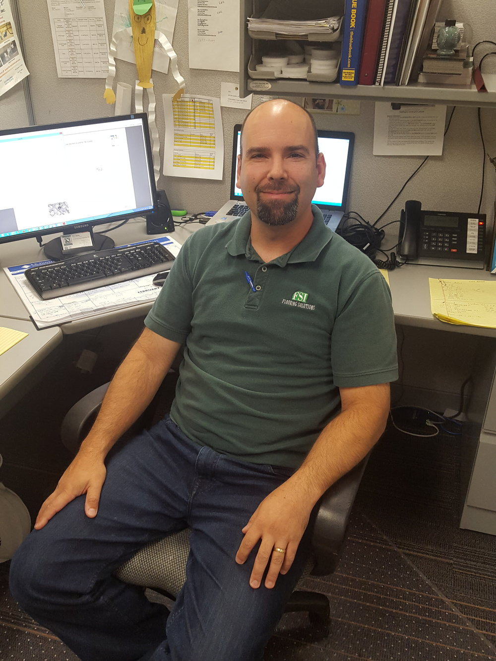 Matt Glieden, Account Manager 12 years in flooring and 9 years at FSI. Matt@flooring-solutions.com