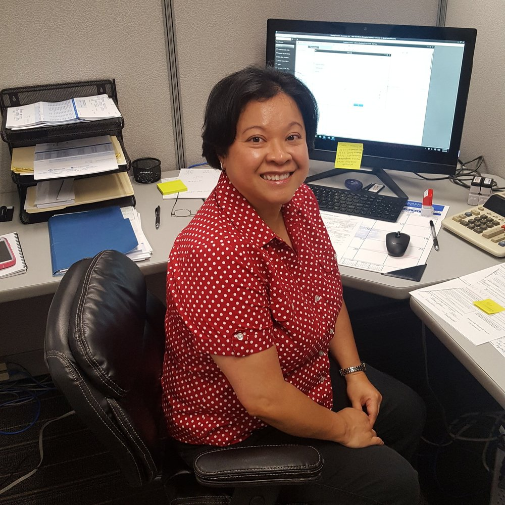 Mary Ann Gustilo, Assistant Bookkeeper   2 years in flooring and 2 years at FSI.    maryann@flooring-solutions.com