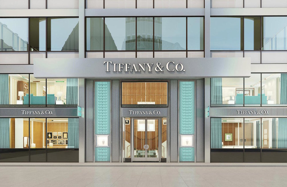 Tiffany & Co Gets An Upgrade - Tiffany stores are going through a major national upgrade program for their stores and needed advice on their flooring options.They chose a Milliken custom patterned carpet for their new sophisticated, and elegant look while needing a durable and easy to clean carpet.We were able to do all the work in the evenings after the stores closed to avoid costly business interuptions.Location: 11+ stores nationwide