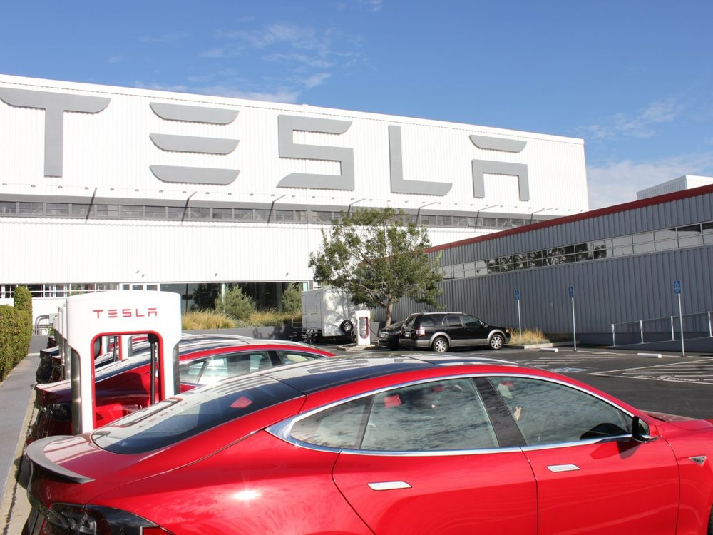 Designed Tesla's New Look - The Tesla factory needed a major remodel and upgrade of their safety requirements and overall appearance.They asked us to create something that looked modern but was also safe and durable.We have installed commercial sheet vinyl, carpet tile and VCT there in areas that were previously worn out and a trip hazard. In addition, we taught them how to clean and maintain their new floors.Location: Fremont, CA