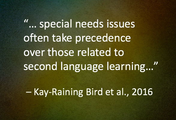 Kay-Raining Bird, E., Trudeau, N., Sutton, A., Pulling it all together: the road to lasting bilingualism for children with developmental disabilities