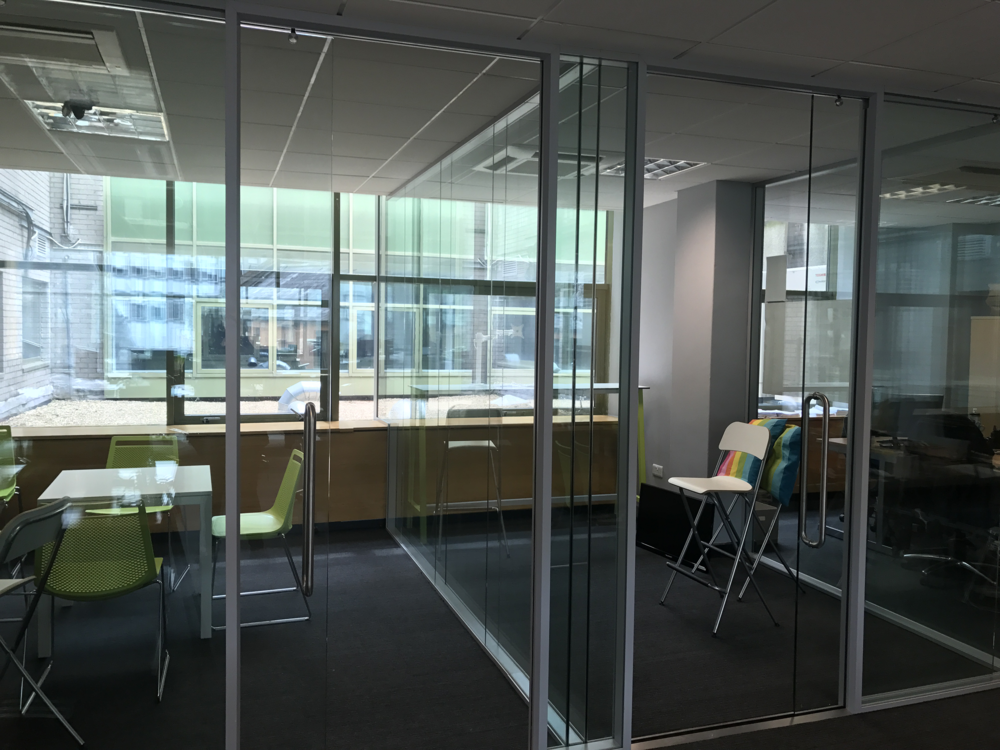 Workhub Two - Our second workspace located on level 1 is home to our private office space.Currently we have one large private office capabile of holding 30 members with two 12-man and two 8-man offices for private use.