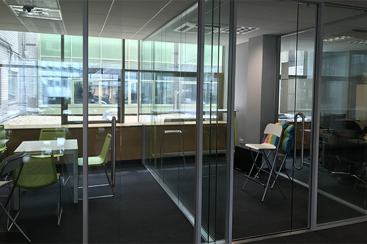 Private Office Space - Level 1 is home to our private 12-man and 8-man offices