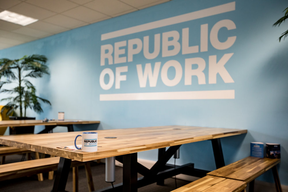 Co-Working Day Pass - Book workspace for a single day hotdesking, €35+VAT non-contract.
