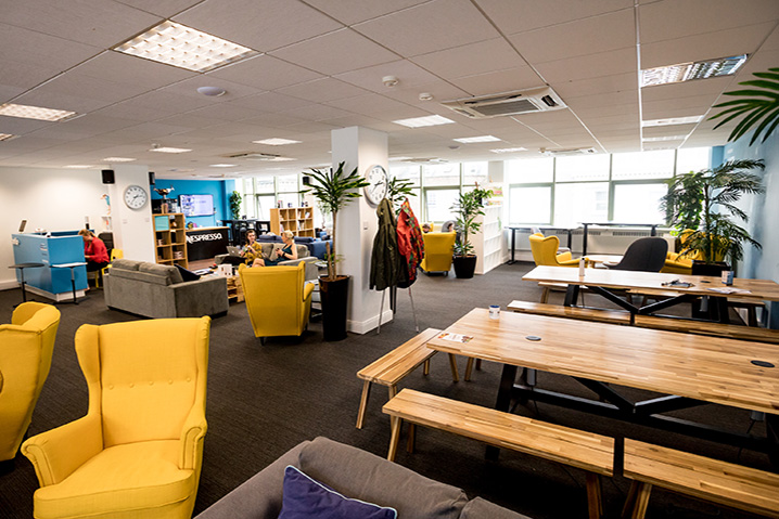 Business Lounge Membership - Access to our business lounge for casual work & informal meetings.
