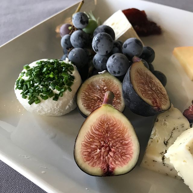 . Perfectly paired and placed cheese tray to welcome our guests. Hosting is a hobby of ours.  #eatdrinkwithEricBauer #PNW #Bridal #Wedding #Caterer #Engaged #2018 #WeddingSeason #Seattle #Snohomish #Caterer