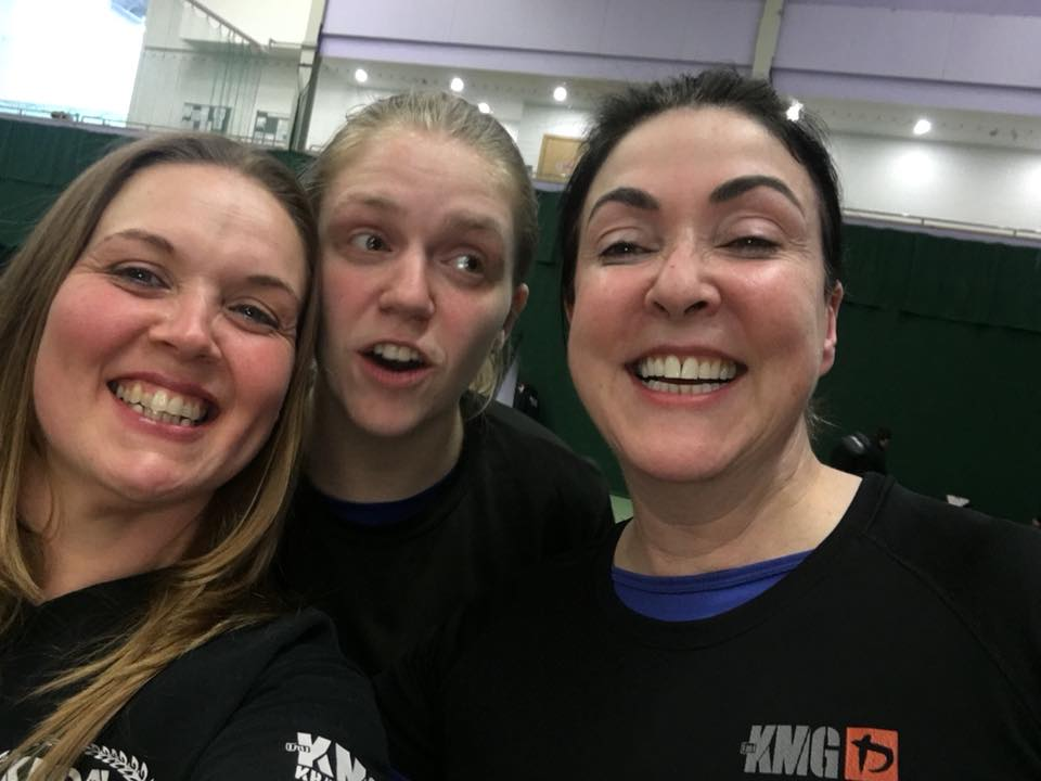 Two of my very good friends and krav maga instructors Nat and Sarah. One of the best things about KMG and krav maga is the friends you make and these two bring joy to my life. I think Jim Rohn would approve!