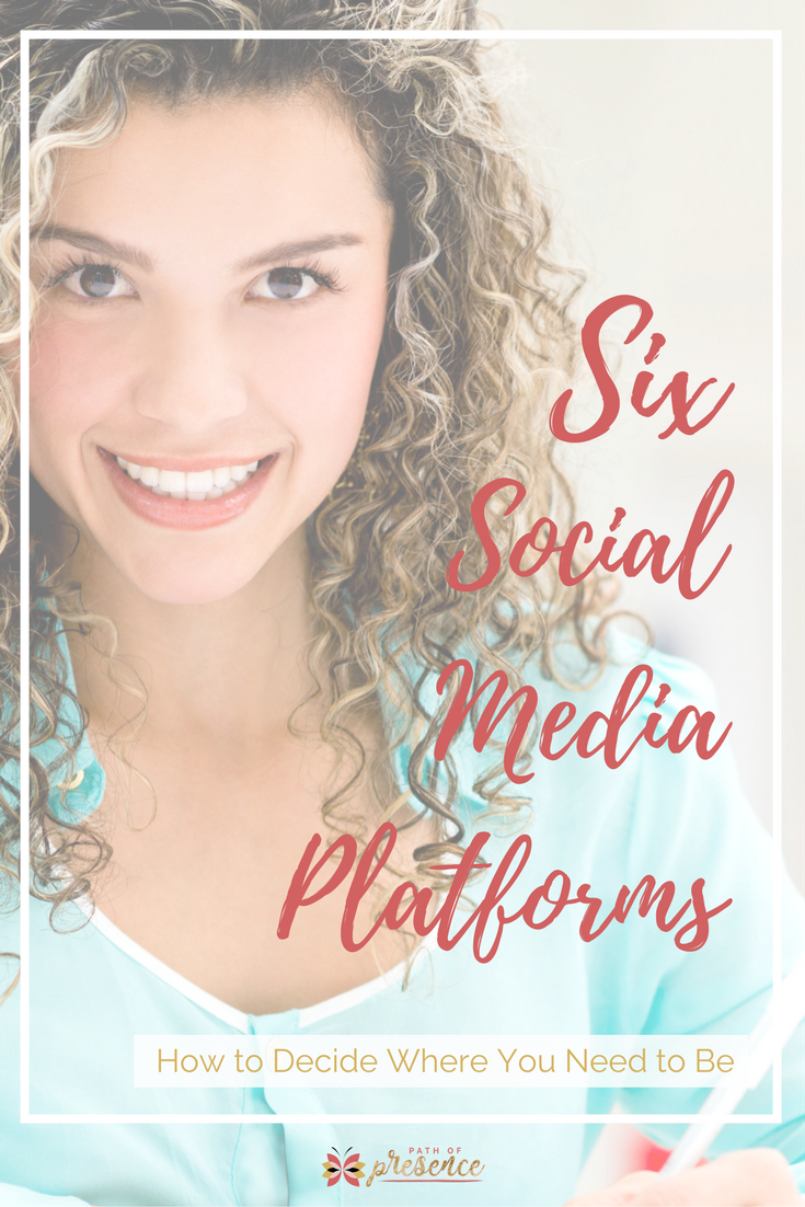 Six Social media platforms every entrepreneur needs to know // social media platforms cheat sheet // social media comparisons // social media platform business // social media platform strategy // socialmedia marketing strategy // social media platform tips