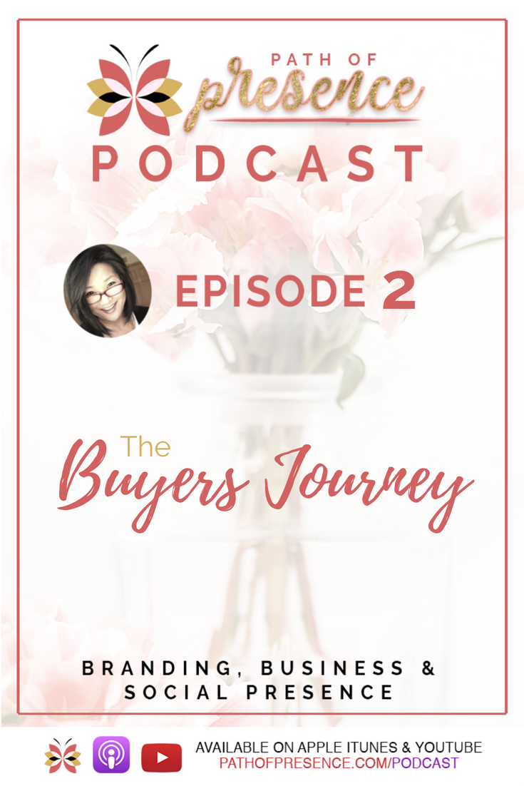 Path of Presence Podcast - Evelyn ForemanThe Buyers Jpurney and the Relationship of Trust