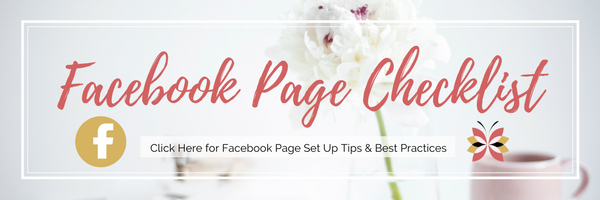 Facebook Page Checklist - Free Download / SMM // Social Media Marketing // Social Media Tips // Facebook Page Tips, Checklist and shortcut