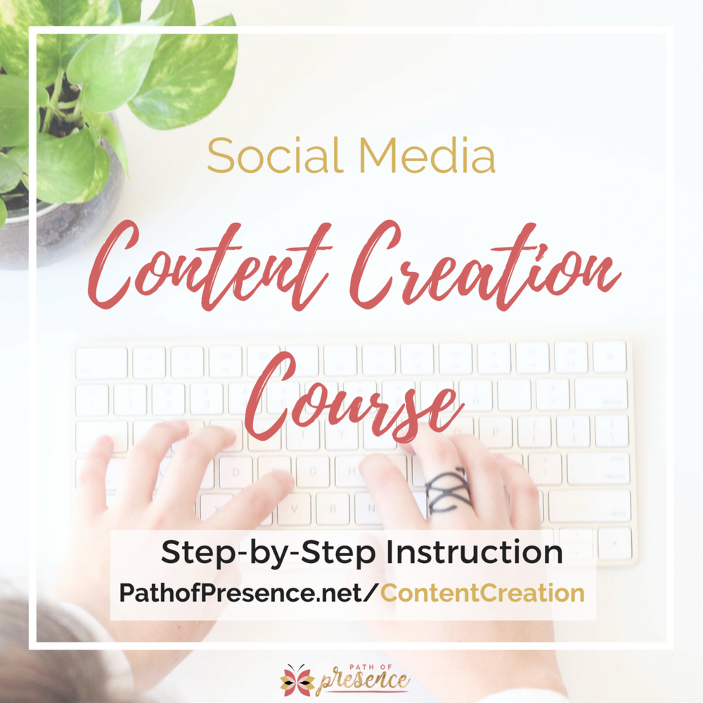 Social Media Content Creation Course
