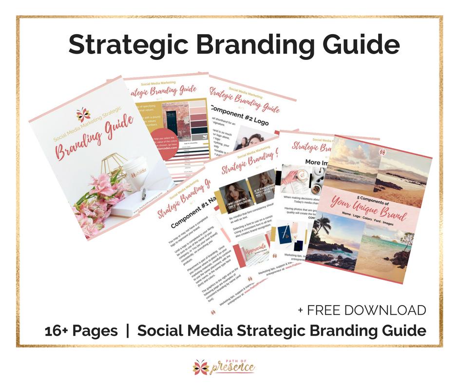 Social media Strategic Branding Guide - Free Download Path of Presence