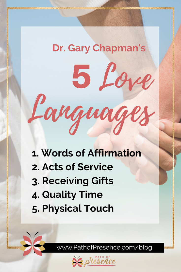 How to Improve Communicationby Understanding how the 5 Love Languages can help you :: Path of Presence :: Personal growth and Empowerment Blog :: Evelyn Foreman
