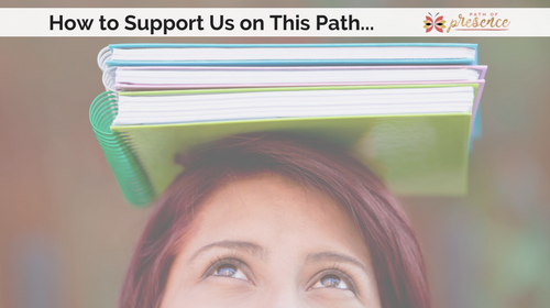 Ways you cn support a blogger and her business :: Path of Presence :: Supporting a blogger