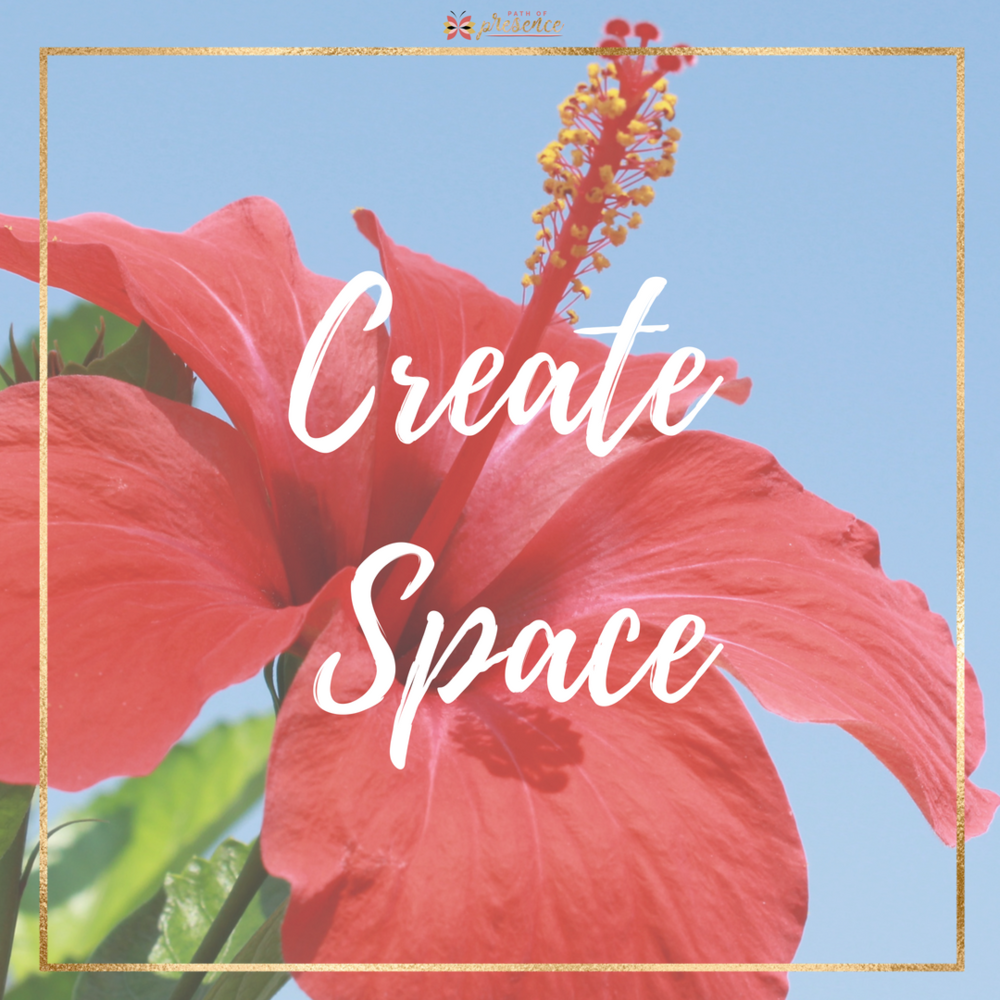 "Create Intentional Space :: Path go Presence :: Self Care:: In the midst of the large & the small, Everyday life still needs to unfold. 🌻 💫I love it when I arrive at a day that I have been planning and looking forward to. I've accomplished what I ""NEED TO"" do this week.  Now, I ""GET TO"" do something that I consider self-care."