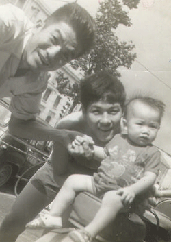 Dad, Brother and me   ❤️ c. 1974