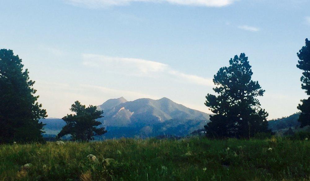 Having mountains so close means constant temptation.