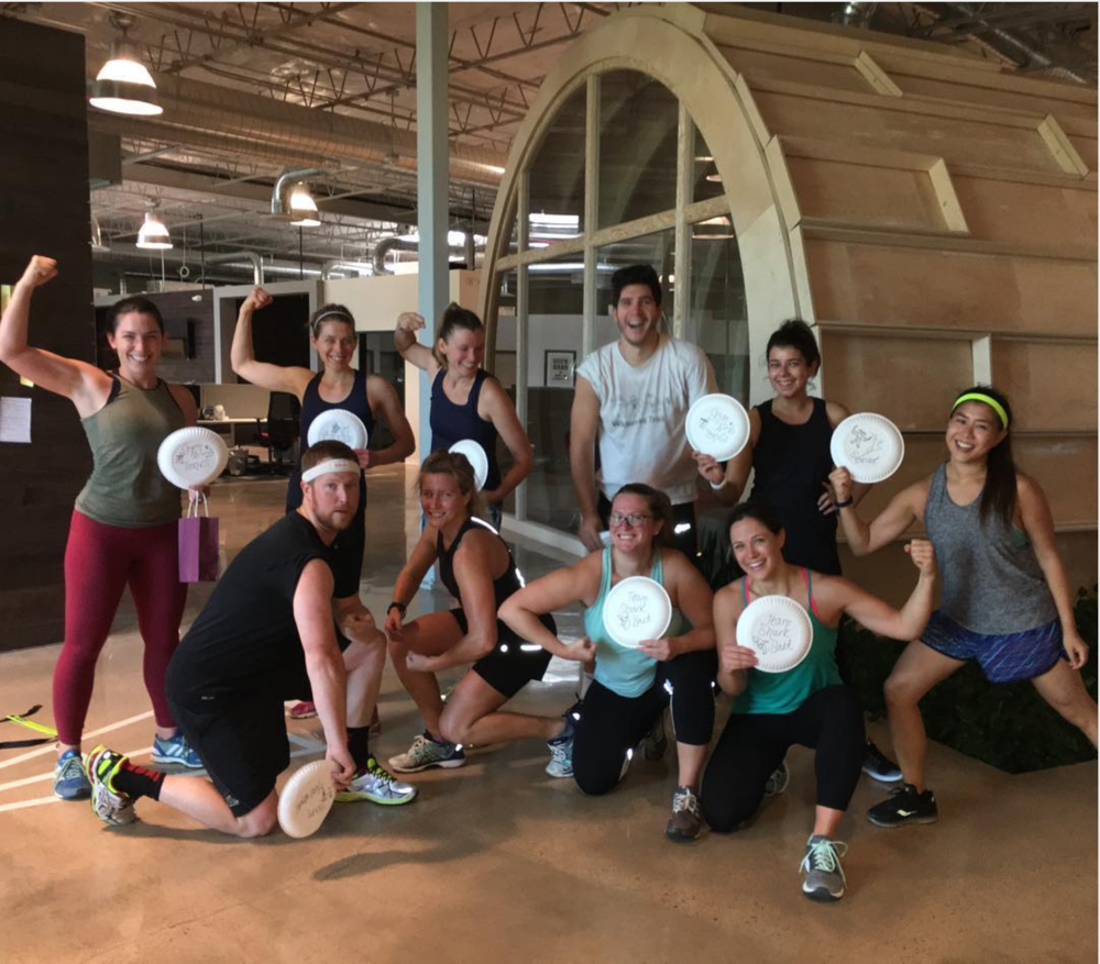 I also stopped being so self-conscious about working out with other people and dragged myself to a bootcamp class with my coworkers.