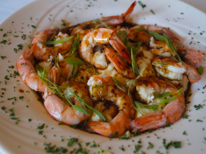 Shrimp and Grits - $30 – Asian twist on a low country classic.