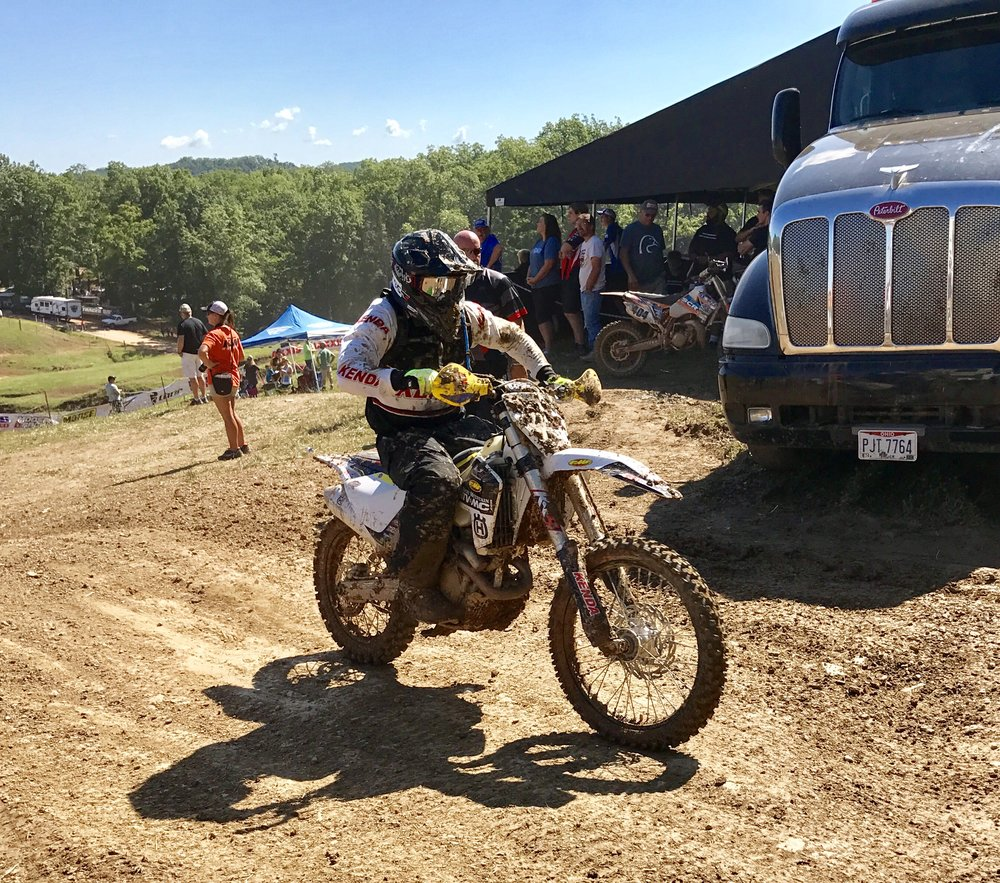 Kenda's Own Jason Baldwin Showed Up to Race the 10 AM Event. Photo by KR4
