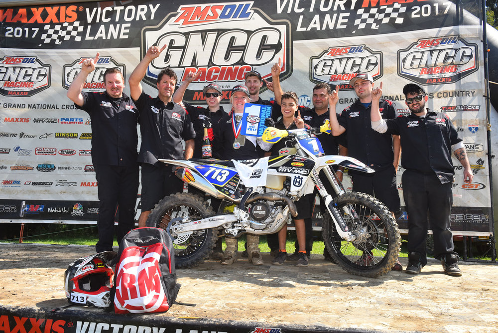 Tayla Jones Wins The 2017 GNCC Championship
