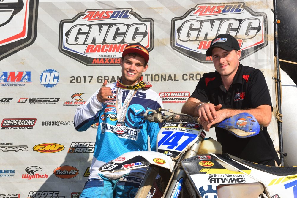 Hunter Neiwirth Scores His 5th XC3XC3 Podium At Unadilla GNCC