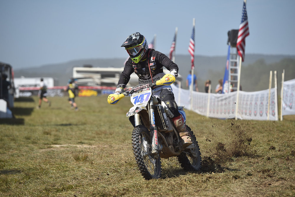 Hunter Nuewirth landed a top-five finish in the XC3 class after struggling with a virus.Photo - Ken Hill