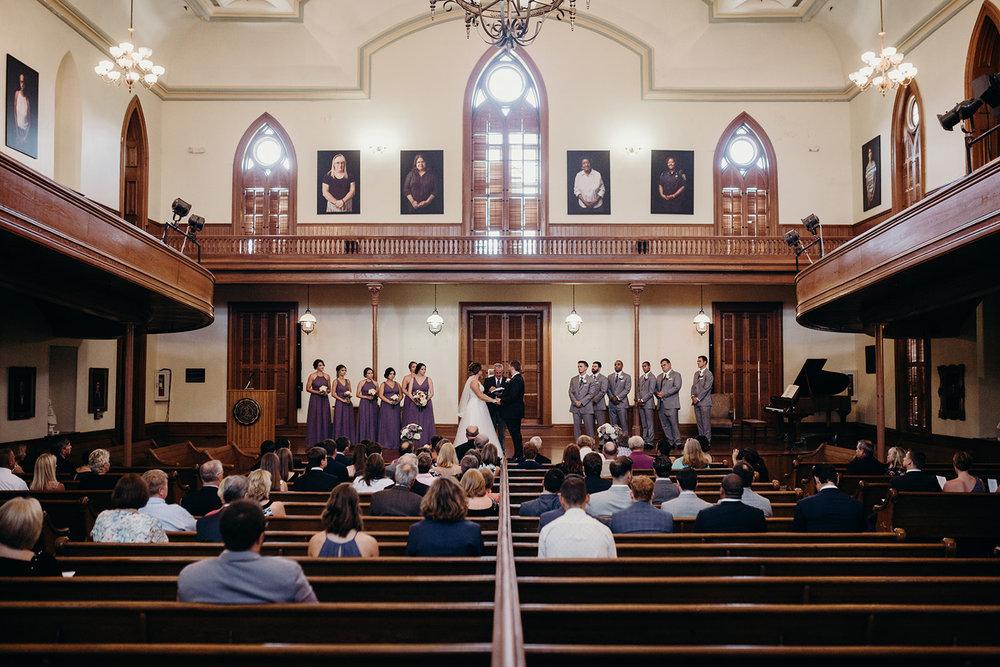 Meherry hall wedding