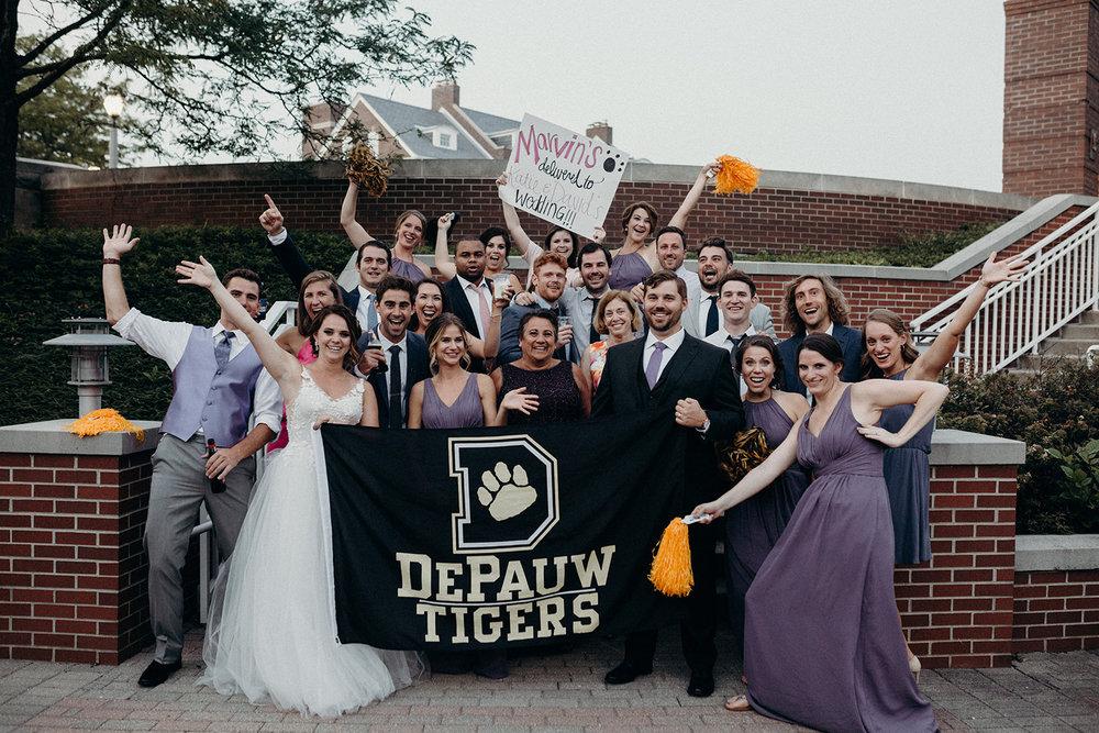 depauw wedding