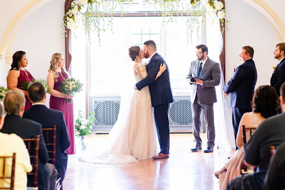 laurel hall wedding chapel ceremony