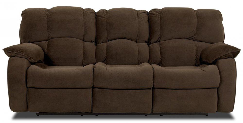 - overstuffed sofas
