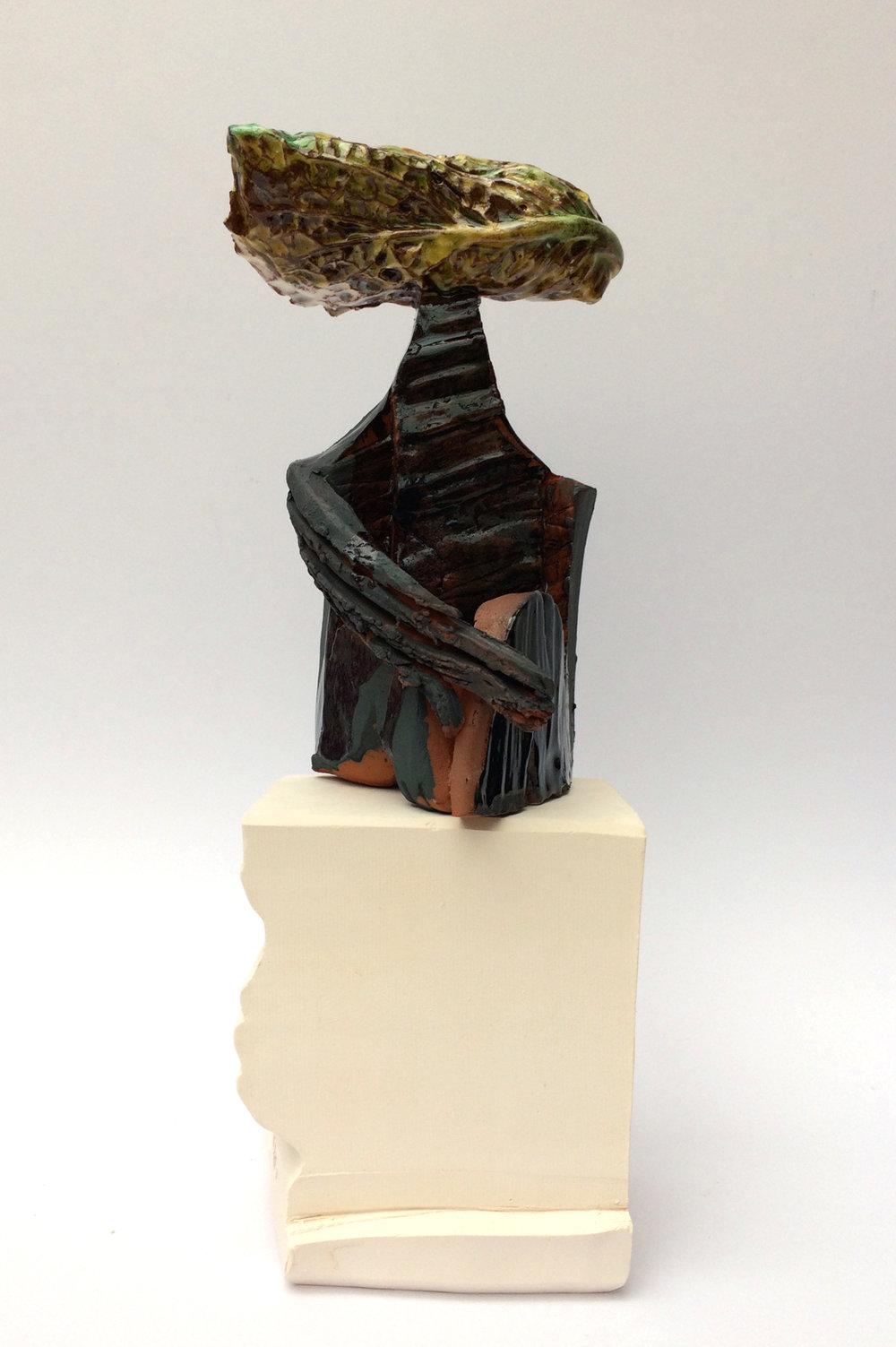 L'homme à la tête de choux - H 15cm x W 10cm